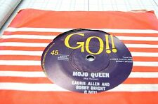 orginal oz 45 single- mojo queen //judy green laurie allen and bobby bright