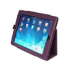 NEW Kyasi Seattle Classic Tablet Folio Case for Apple iPad Air Deep Purple
