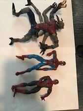3 Marvel Legends Spider-Man Movie Mutated ToyBiz 2002 2004 figure Raimi Lot
