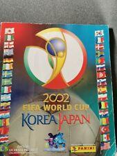 Panini  WM 2002 Japan Korea Album Komplett mit den seltenen Iren / RAR