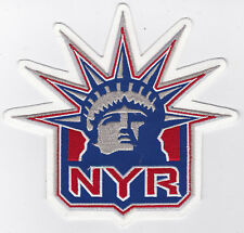 "1996-2006 ERA NEW YORK RANGERS NHL HOCKEY 6.25"" ALTERNATE TEAM LOGO PATCH"