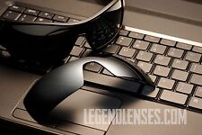 A10 Titanium Mirror POLARIZED Replacement Legend Lenses For Oakley OIL RIG