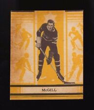 1935-36 OPC V304C 1935 O-PEE-CHEE SERIES C~#74~JACK McGILL~MONTREAL CANADIENS