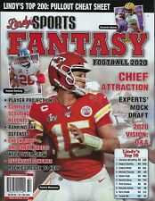 Lindy's Sports Fantasy Football 2020 Patrick Mahomes
