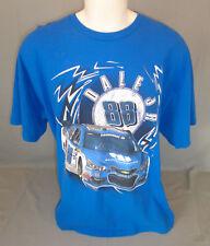 Dale Earnhardt Jr #88 Hendrick Nationwide Short Sleeve Blue T-Shirt Size 2XL XXL