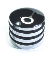 CHROME METAL CONTROL KNOB ELECTRIC GUITAR / BASS / AMP