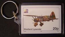 RAF WESTLAND LYSANDER Special Operations WWII Aircraft Stamp Keyring