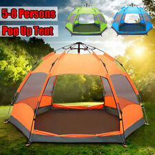 5-8 People Waterproof Automatic Outdoor Instant Pop Up Tent Camping Hiking Tent