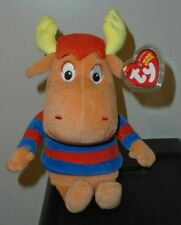 "The Backyardigans Tyrone the Moose Ty Beanie Babies 8""  18cm New MWMT Rare"