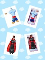 "Disney Aladdin GENIE AND JAFAR  Classic Doll 12"" SET LIVE ACTION FILM"