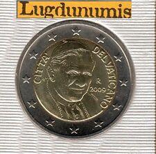 Vatican 2009 - 2 Euro - 91 400 exemplaires Provenant du BU RARE
