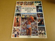 BOEK / BARCELONA OLYMPISCHE SPELEN 1992 DE HOOGTEPUNTEN