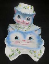 Vintage LEFTON Japan MISS PRISS Ceramic Spoon Rest #1525 & Spice Shaker #1511