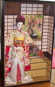 MAIKO Japanese Geisha Girl NEW World Culture Japan Barbie Doll Gold Label RARE