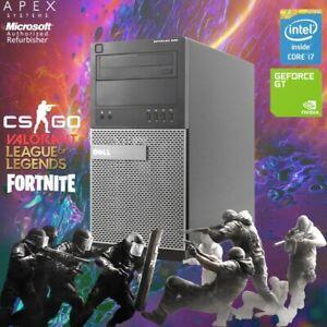Dell Gaming PC Desktop Computer 628GB i7 8GB WIFI Win10 Gaming School Computer