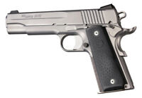 Hogue Automatic Grips w Palm Swell- Colt Government, Gold Cup Full Size Autos