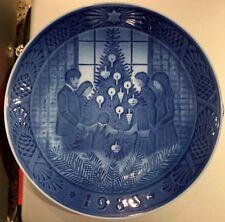 "1983 Royal Copenhagen Christmas Plate ""Merry Christmas"" (Mint)"