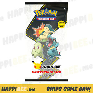 Pokemon JOHTO Partner Pack🍯Trading TCG 2 Booster Packs + 3 Oversized Cards Box