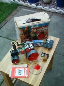 MAMOD STEAM ENGINE ROLLER/WITH EXTRAS