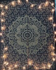 Black Gold Poster Tapestry Decoration Wall Decor Hanging Art Gift College Hippie