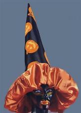 Chapeau de sorcière splendide avec ses citrouilles 50 cm 5784 halloween theatre