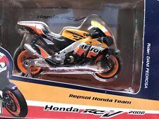 2008 New/Open Box Maisto 1/18 Dani Pedrosa #2 Repsol Honda RC212V Moto GP Htf