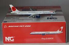 NG Model 53128 Boeing 757-236 British Airways G-BIKW in 1:400 scale
