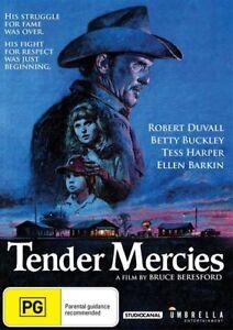 Tender Mercies (DVD) Brand New / Sealed - Region 4 - Robert Duvall