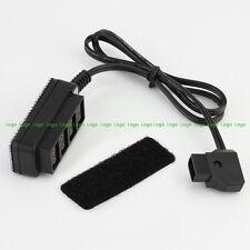 10PCS D-Tap 4-Port Receptacle fr Gold Mount V-mount Battery A7S2 GH5 GH4 Camera