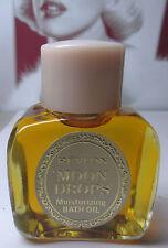 Vintage Revlon MOON DROPS Perfume 2.0oz Bath Oil Sealed Top New Old Stock
