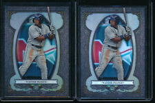 Lot of (2) WANDER FRANCO 2019 Bowman Chrome Sterling Tampa Bay Rays Rookie RC