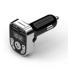 "Monster Bluetooth Fm Transmitter Car Charger (Wfm9-1001) - Black â""¢"