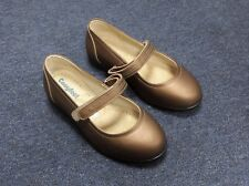 Womens Cosyfeet Daisy Mae Shoes Bronze Adjustable Extra Roomy Wide Fit 7 UK