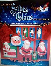 New Vintage Christmas $ Id Santa Claus Price Guide Collectors Book