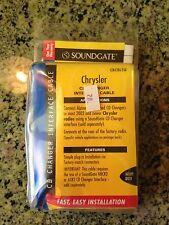 SOUNDGATE CD CHANGER INTERFACE CABLE MODEL CRCBLSQ