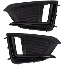OEM 2017-2018 Subaru Impreza Sport Front Left & Right Fog Light Cover Bezels SET