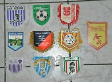 Lot 10fanions de football - Clubs amateurs - Dép. 87 - Lot M