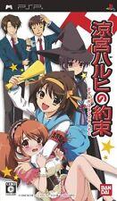 Used PSP Suzumiya Haruhi no Yakusoku  Japan Import ((Free shipping))