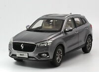 1/18 Scale BORGWARD BX7 SUV Gray Diecast Car Model Toy Collection