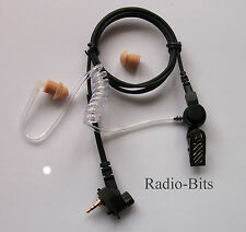 MOTOROLA TETRA - MTH  MTH600, MTH800,MTP850  Covert Acoustic Tube Earpiece