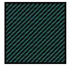 SET DECALS CARBON GREEN (vert) 1/20+1/24