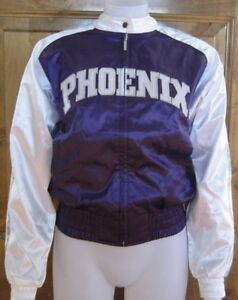 REEBOK PHOENIX SUNS CHEER JACKET S SATIN JUNIORS LADIES