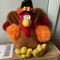 VTG GIBSON GREETINGS 1994 SOFT STUFFED MR GOBBLES TURKEY PLUSH/TOY 12""