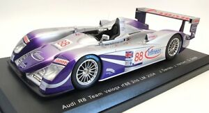 Spark 1/18 Scale S1806 - 2004 Audi R8 #88 2nd Le Mans Davies/Herbert/Smith