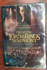 NEW Creating the Lord of the Rings Symphony - Howard Shore DVD SEALED