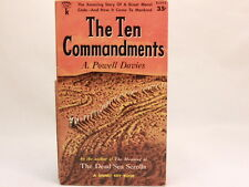 The Ten Commandments by A. Powell Davies (1'st prt.Nov.1956,PB) Signet