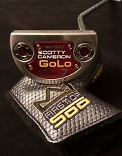 Scotty Cameron-1st Of 500-Limited-Brand New W/Cover-2014 Golo 7- Grip In Plastic