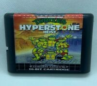 Turtles Hyperstone Heist (Sega Genesis/Mega Drive) - U.S SELLER / Fast Ship!