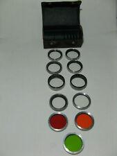 Vintage Genuine Rollei Filter Set 1 Rolleinar Rolleiflex/Rolleicord