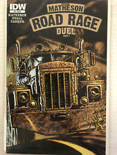 Road Rage: Duel #3 Comic Book IDW 2012